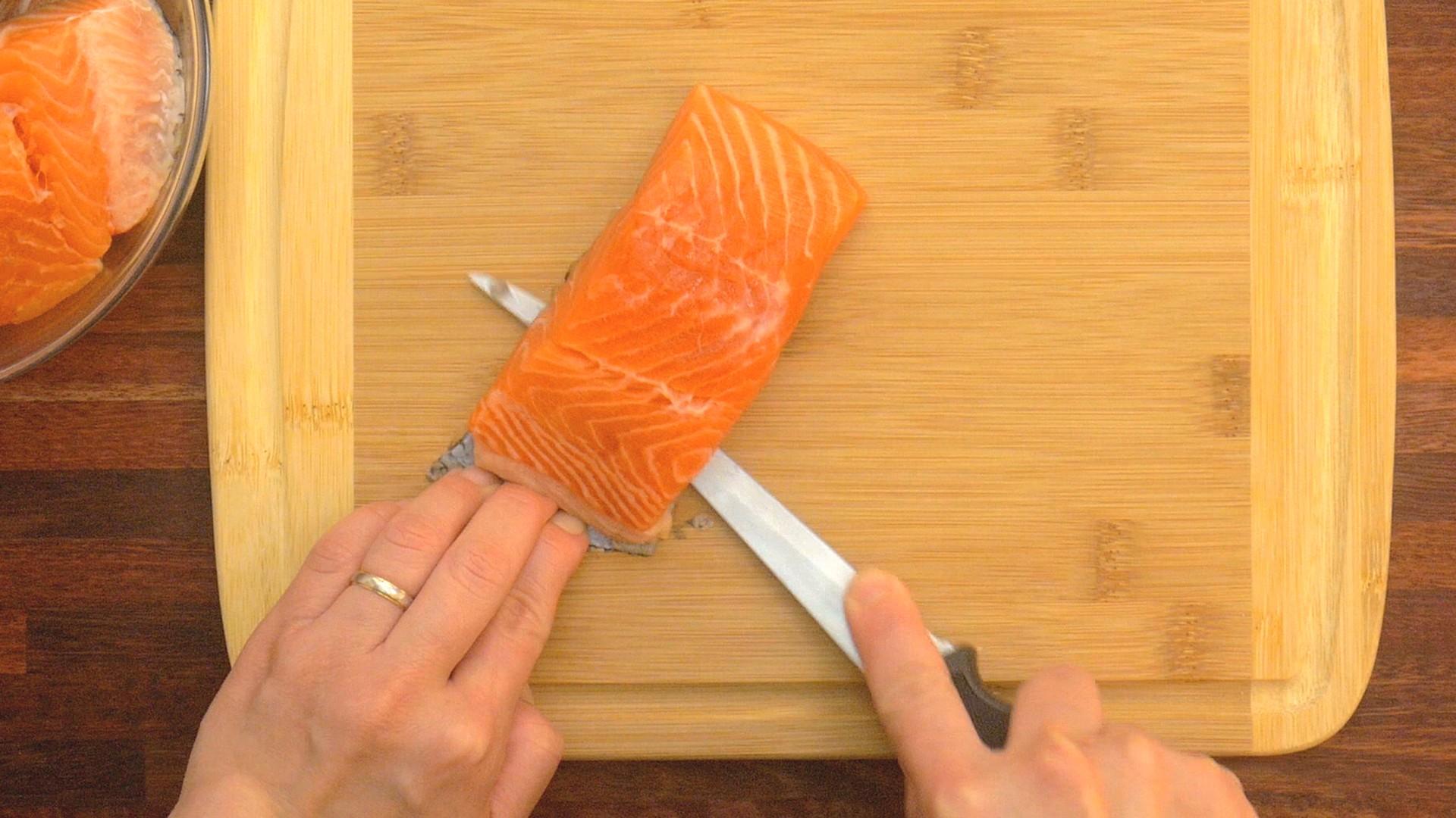 S1E3 Herbs Crusted Salmon Take 1