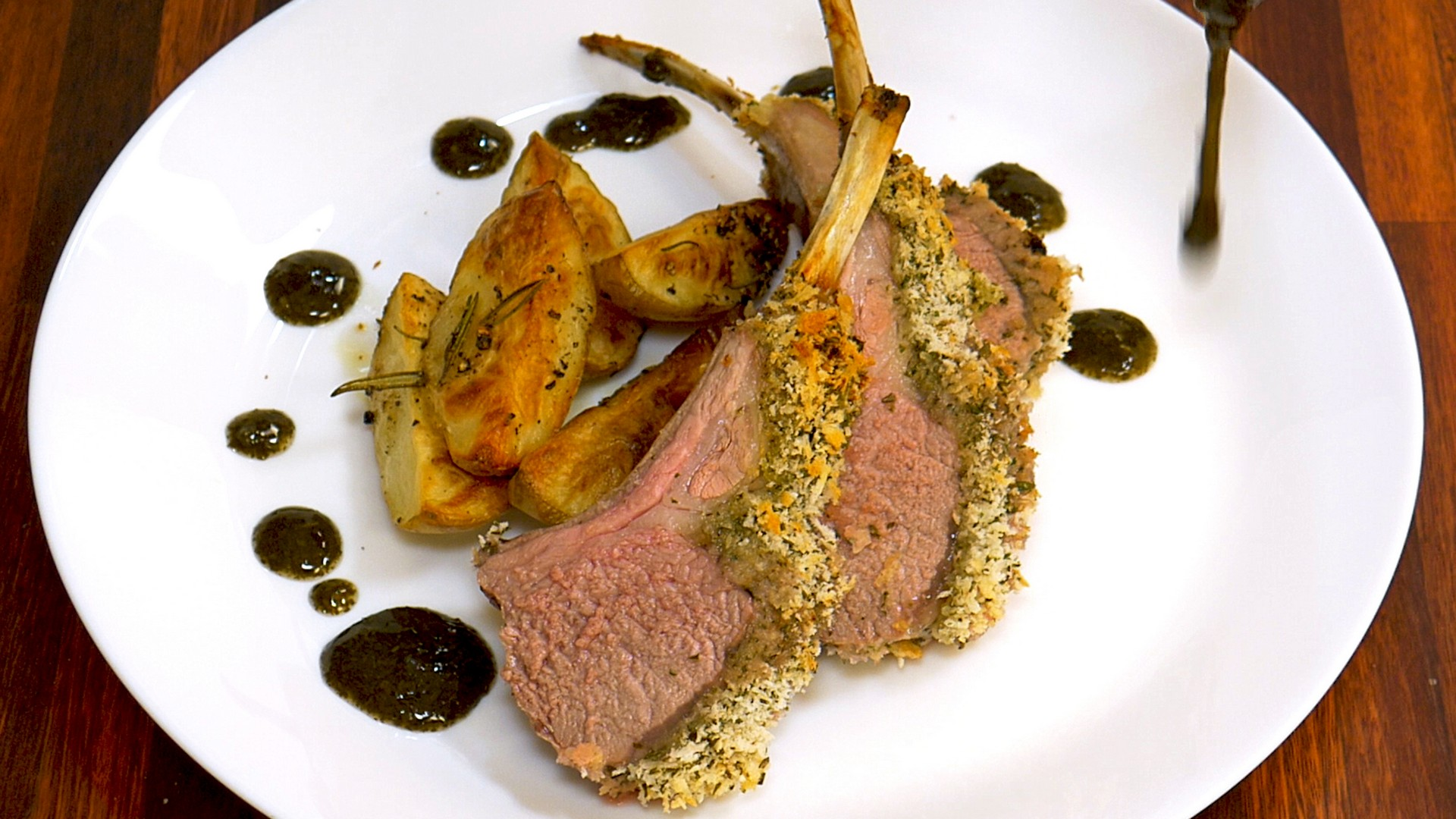 S1E4 Crusted Rack of Lamb Pic 6