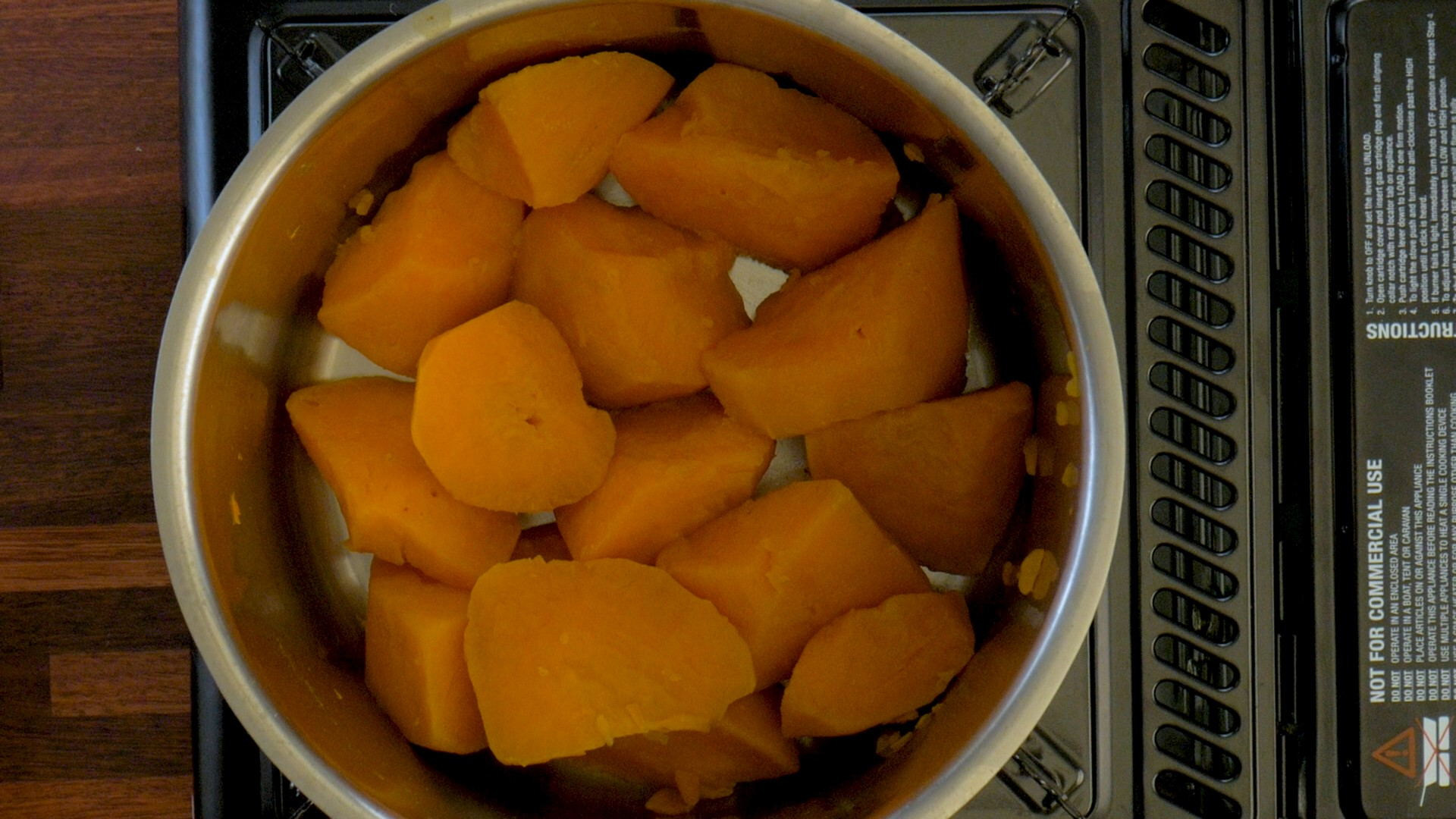 Sides #1 Mashed Sweet Potatoes Pic 2