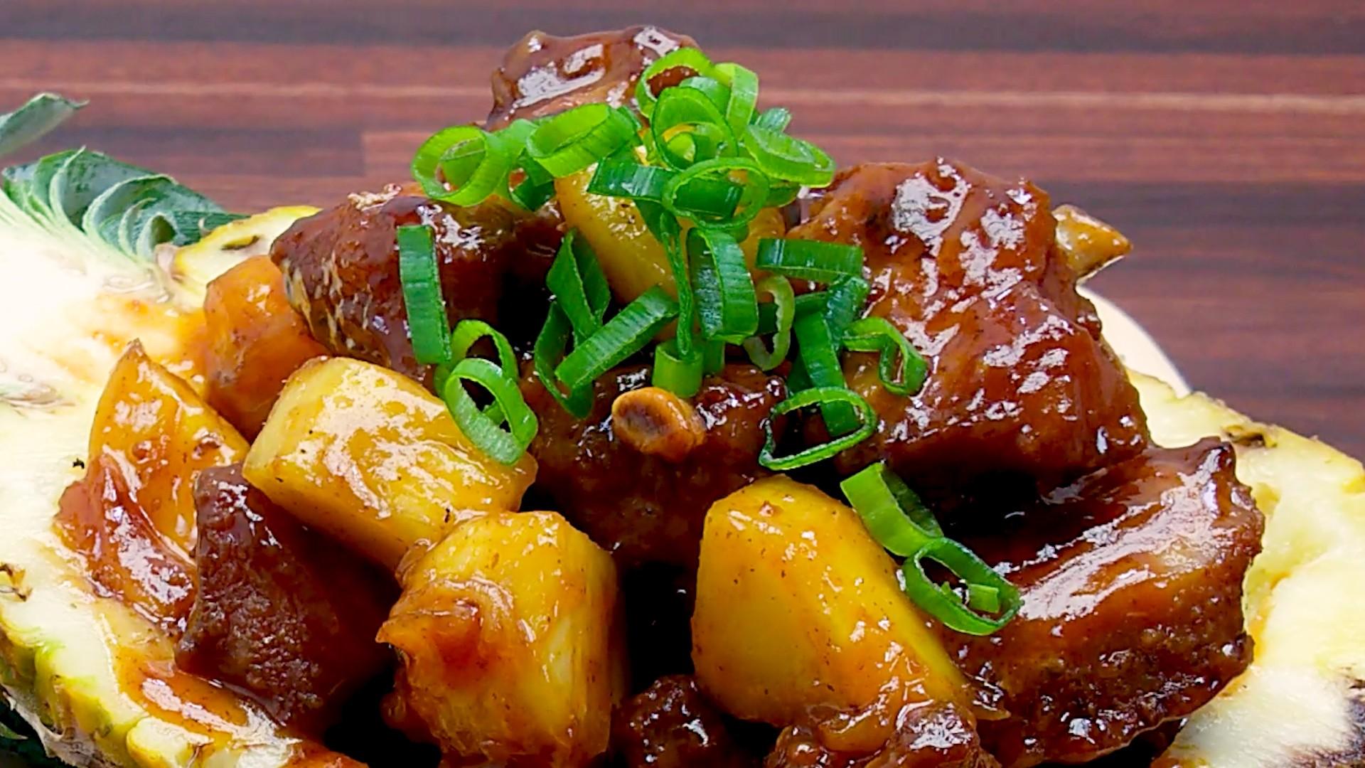 Pineapple Meaty Pork Ribs Pic7