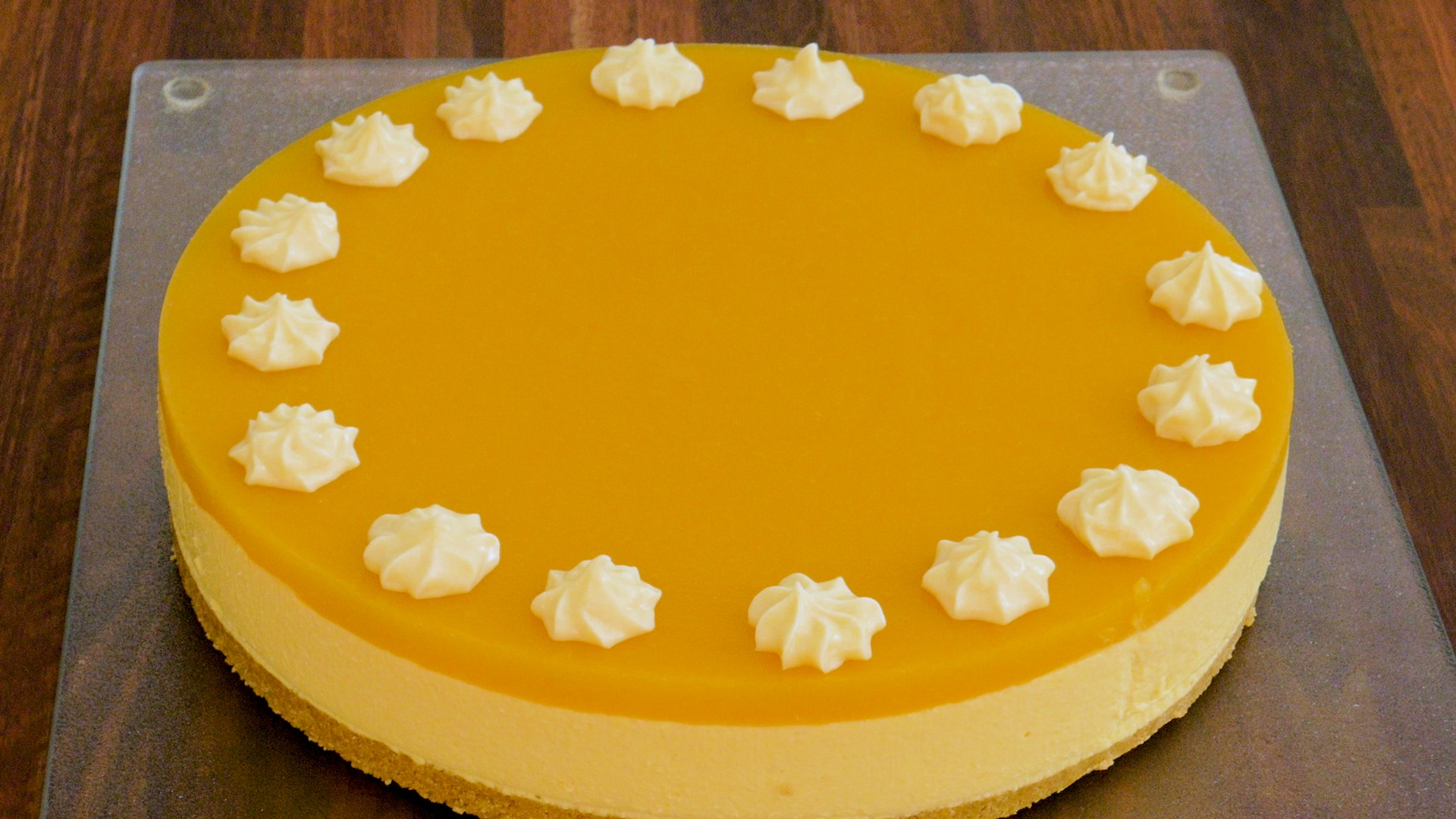 No-Bake Mango Cheesecake Pic 8