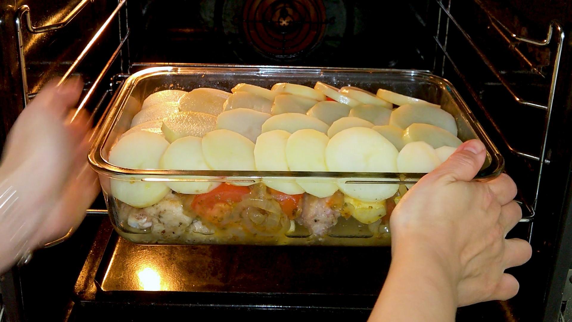 Chicken and Potato Casserole Pic 8