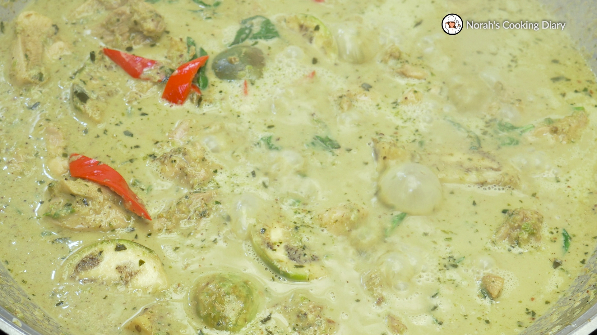 Thai Green Chicken Curry Pic7