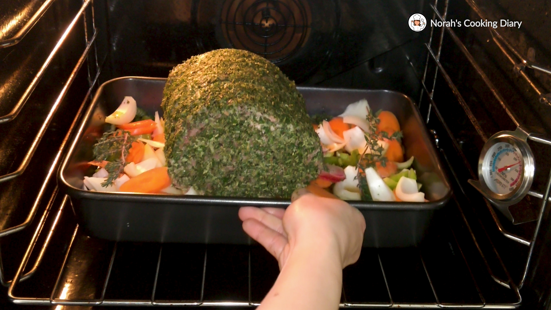 Roast Beef With Herb-Mustard Crust Pic 6