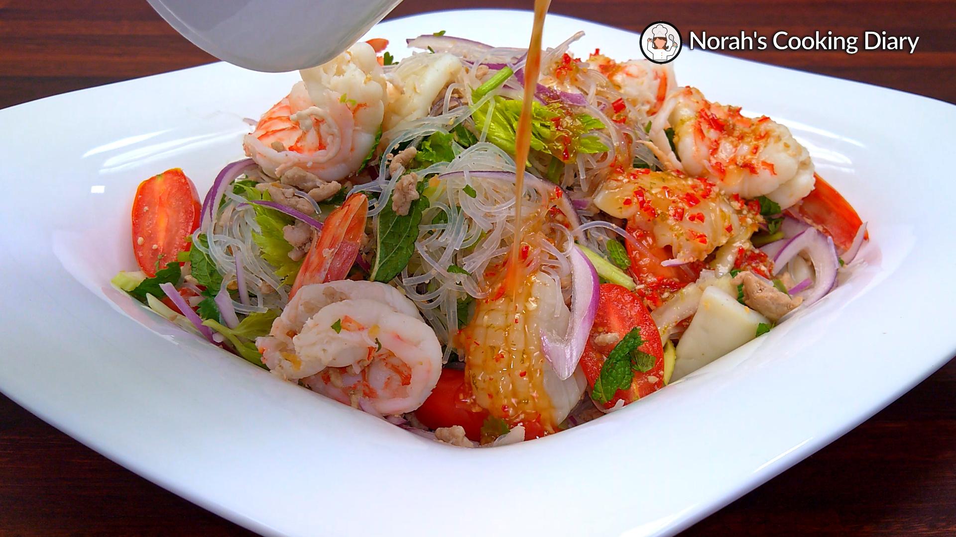 Thai Glass Noodle Salad Pic8