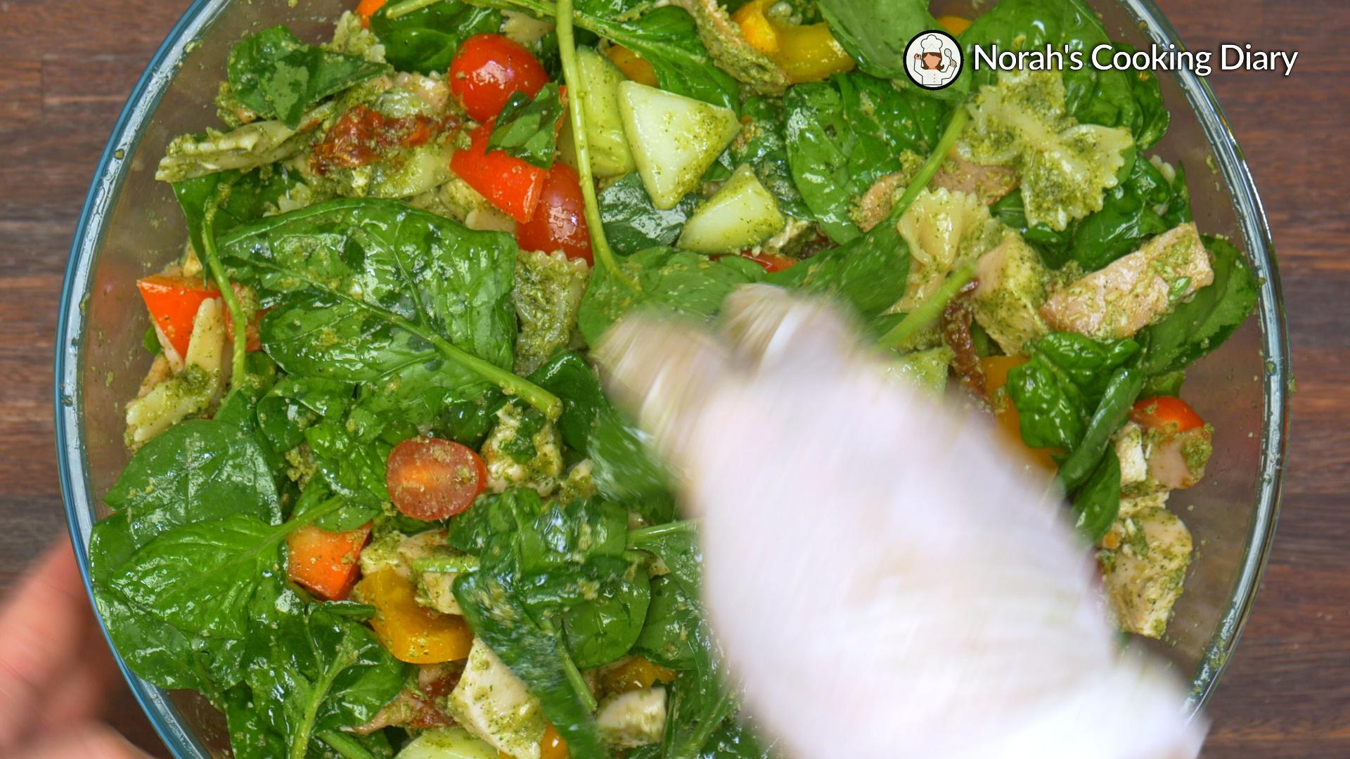 Pesto Pasta Salad Pic7