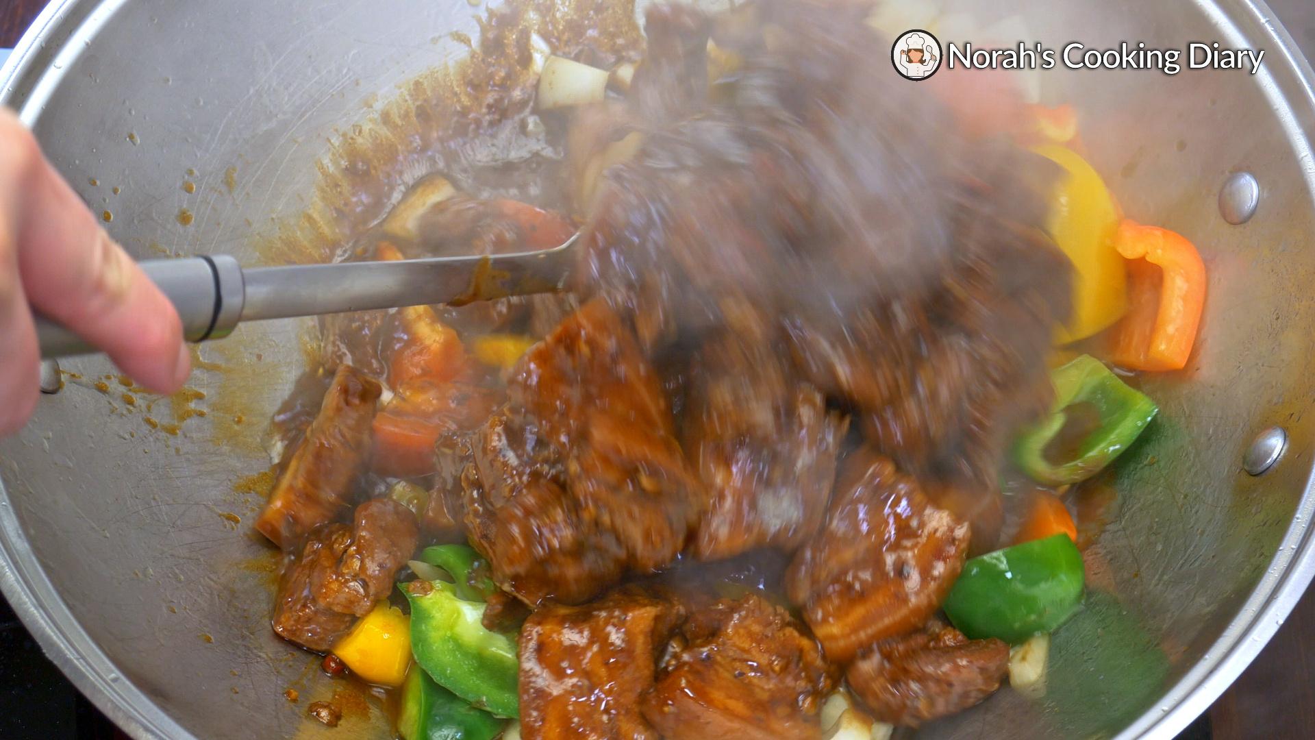 Pork Belly Black Bean Sauce Pic6