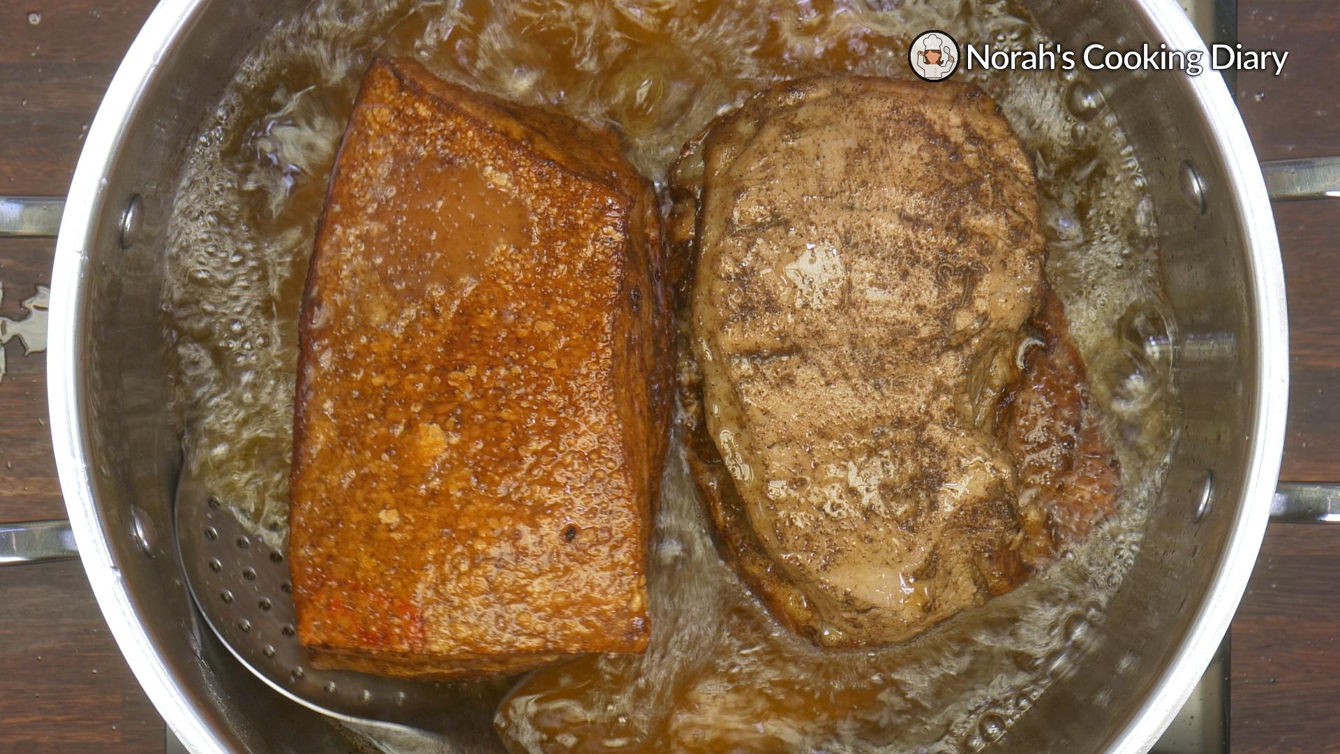 Hakka Steamed Pork Belly with Taro Pic7