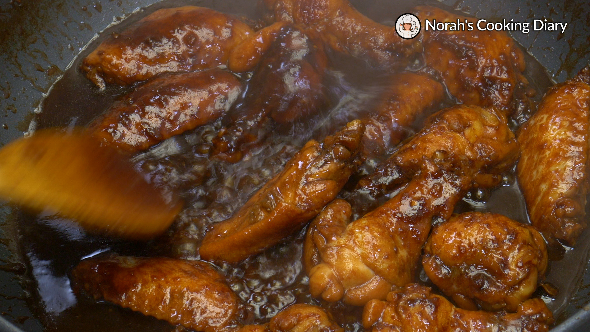 Soy Sauce Chicken Wings Pic8