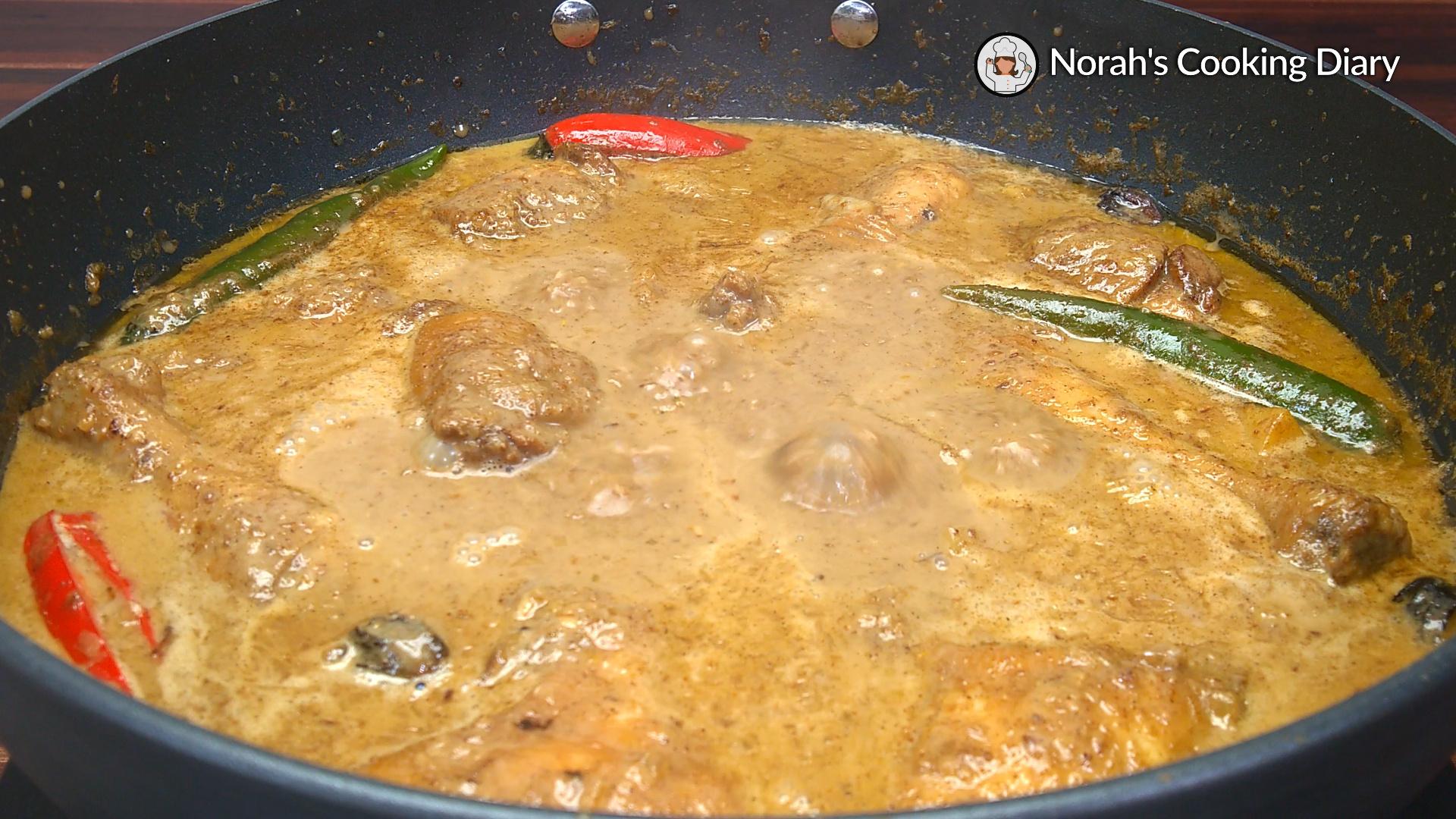 Malaysian Chicken Korma Pic8